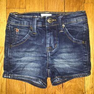 Baby Hudson jean shorts